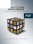Roger Z. George, James B. Bruce Analyzing Intelligence Origins, Obstacles, And Innovations 2008