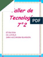 Taller de Tecnología e Informatica