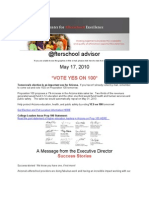 Arizona Center for Afterschool Excellence - @fterschool Advisor - May 17, 2010