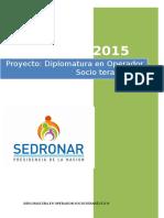 Diplomatura Operador Socio Terapéutico v3 2015