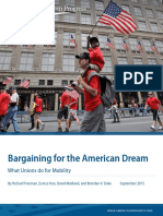 Bargaining for the American Dream