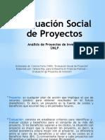 Evaluacioìn Social de Proyectos API