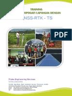 Materi Training Topografi, GNSS, RTK, GPS, TS dan data processing