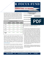 Auxier Asset Management Fact Sheet