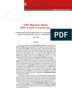 WPA Migration Mode - WEP is Back to Haunt You (Paper)
