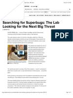 Searching for Superbugs