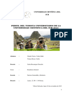 Perfil del Turista Universitario de la UCSUR