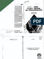 Dor, J. El Padre y Su Función en Psicoanálisis