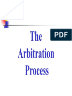 Arbitration Process and Procedures - 32 Pages