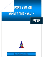 Labor Laws on Safety and Health - 39 Pages