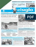 Edición Impresa El Siglo 08-06-2016