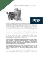 Pensamiento e Investigación Educativa en Chile