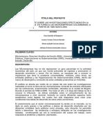 Estado Arte Sobre Investigaciones Gil Baquero 2009.