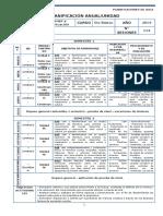 Lenguaje Planificacion - 5 Basico