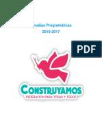 Programa Vocalia Programatica Cultura - Rodrigo