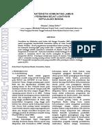 Agrikan Volume 6 Edisi 2_33-39_Munira & Johny Dobo_KARAKTERISTIK KOMUNITAS LAMUN DI PERAIRAN SELAT LONTHOIR KEPULAUAN BANDA.pdf