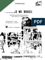Fenicios No Brasil Antiga Historia Do Brasil de 1100 AC a 1500 DC Parte 1 Ludwig Schwennhagen
