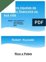 Trabalho Finanças Pessoais