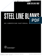 Asme b16.48 Steel Line Blanks(1997)
