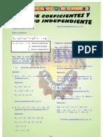 SUMA_DE_COEFICIENTES Y TÉRMINO INDEPENDIENTE