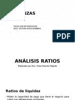 Ratios Finanzas