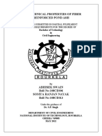 Thesis 136GEOTECHNICAL PROPERTIES OF FIBER REINFORCED POND
