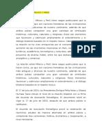 Relacion Entre Mexico y Perú