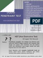 Liquid Penetrant Test