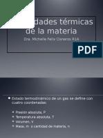 Propiedades Termicas de La Materia