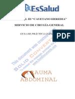 Trauma Abdominal Guia Practica Clinica01