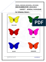 GK FinalTerm Worksheet