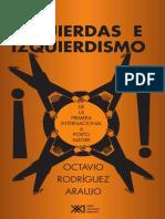 Izquierdas e Izquierdismo Octavio Rodriguez Araujo