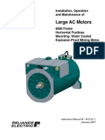 Instalacion Operacion y Mantenimiento Motores Large AC