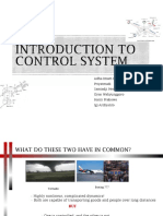 Introduction to Control System