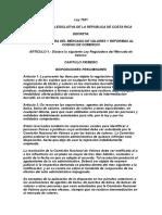 Ley 7201-Ley Reguladora Del Mercado de Valores y Reformas Al Código de Comercio.