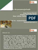 Arya Samaj Wedding | Arya Samaj Mandir Delhi - Aryasamajvivah.in