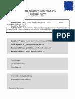 Formato Oficial Para Transcribir Las Propuestas