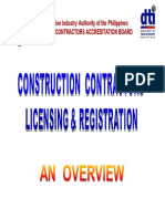 PCAB Mandate Licensing and Registration - 60 Pages