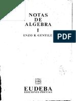 Notas de Algebra - Enzo Gentile.pdf