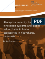 IHS WP 027 Fransen Absorptive Capacity Local Innovation Systems and Global Calue Chains in Home Accessories in Yogyakarta Indoneia 2013