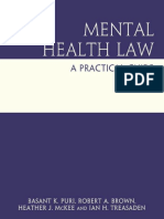Basant K. Puri, Robert a. Brown, Heather J. McKee-Mental Health Law