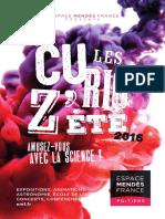 Les Curioz'été 2016 - EMF