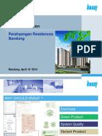 Knauf APL Parahyangan Residences Bandung