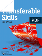 20 Transferable Skills