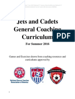 jets and cadets coaching curriculum