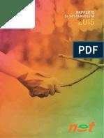 Rapporto di sostenibilità 2015