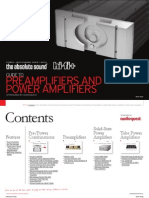 Preamps and Amps Buyers Guide
