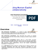 Jobs Placement Consultants Profile