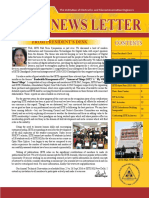 News Letter Vol 18 No 1 Jan-April 2016