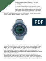 TomTom Comienza Una Aventura En Solitario Con Sus Nuevos Relojes Deportivos